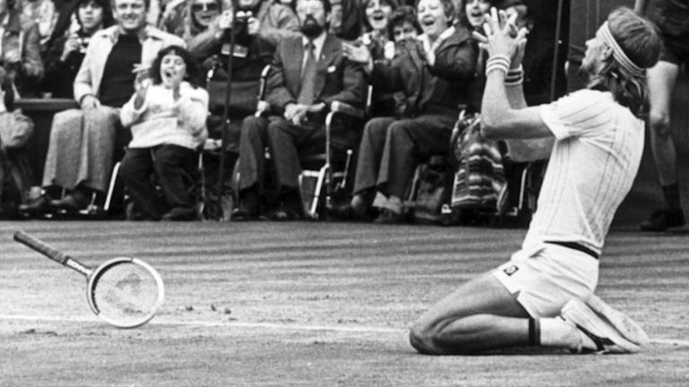 Björn Borg vann Wimbledon fem år i rad.