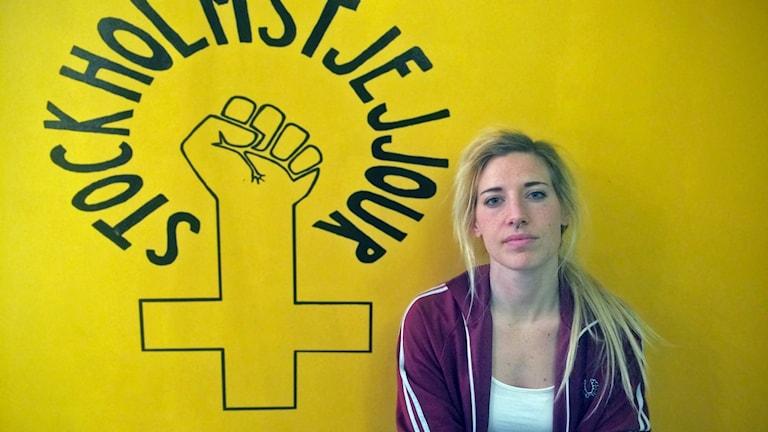 Malin Meissner på Stockholms tjejjour.