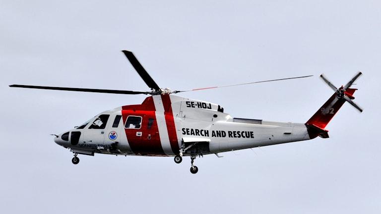 Sjöräddningshelikopter (arkivbild).