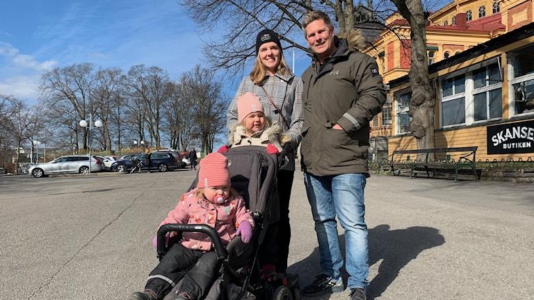 Familjen Grane vill stötta Skansen.