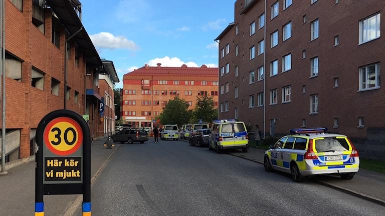 Poliser i Huddinge