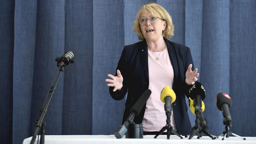 Finansregionråd Irene Svenonius (M).