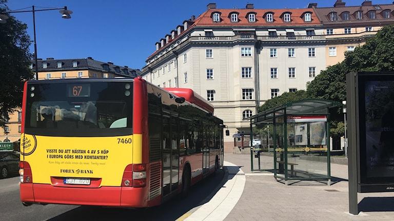 Det flesta klagomålen har berört den höga värmen på bussarna. Foto: Linn Bäckström/Sveriges Radio.