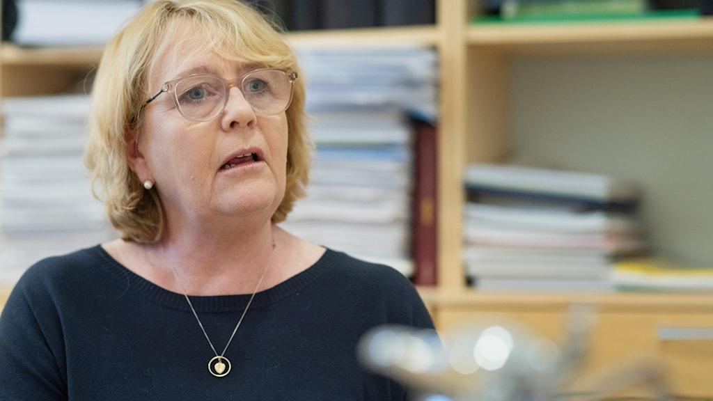 Stockholms finansregionråd Irene Svenonius (M)