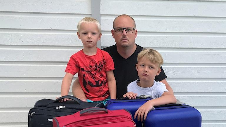 Michael Thunberg med familj