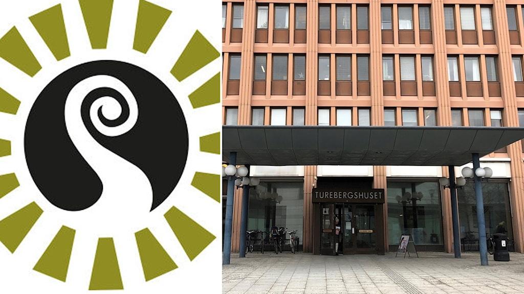 Sollentunapartiet partilogga och stadshuset