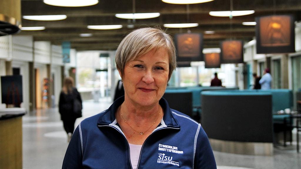 Helen Alpstig, idrottskonsulent.