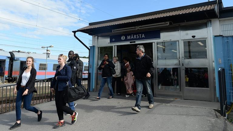 Märsta station