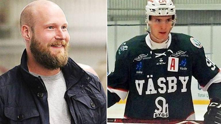 Tom Tärnström, klubbchef och sportchef i Väsby / Ljubomir Fetkovic.