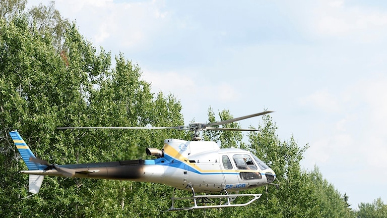 Ett företag vill bygga en helikopterflygplats mitt i Stockholm (arkivbild).