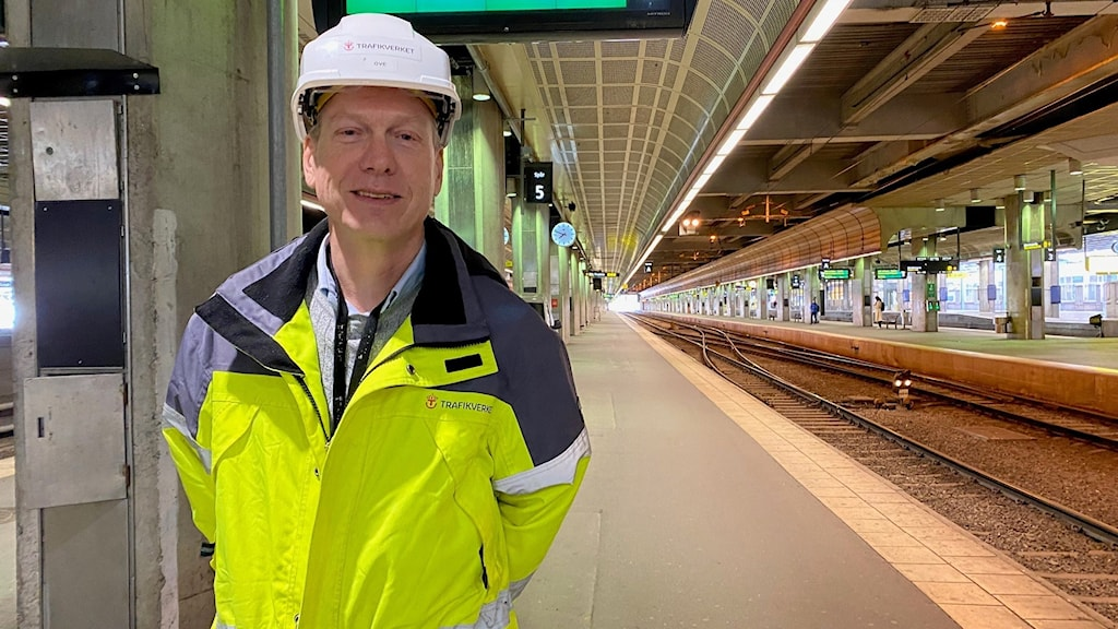 Ove Näslund, projektledare på Trafikverket.