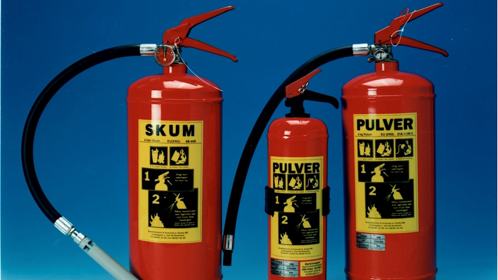 Brandsläckare (arkivbild).