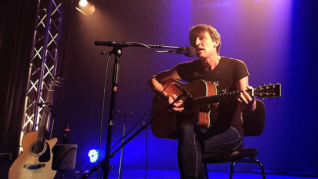 Jakob Hellman på Musikplats Stockholm.