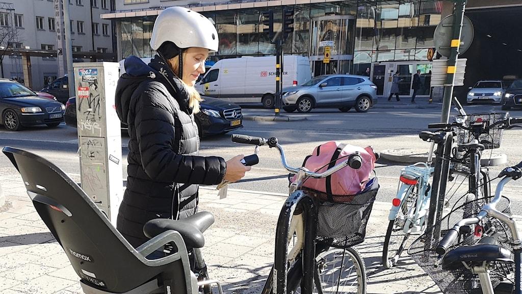 Cyklist södermalm