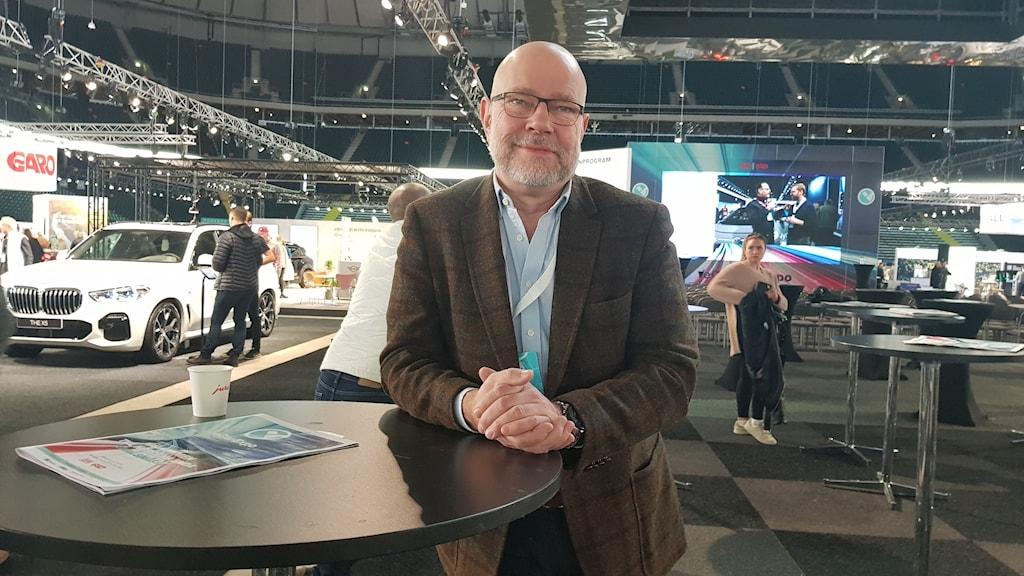 Gunnar Dackevall mässgeneral för elbilsmässan i Solna