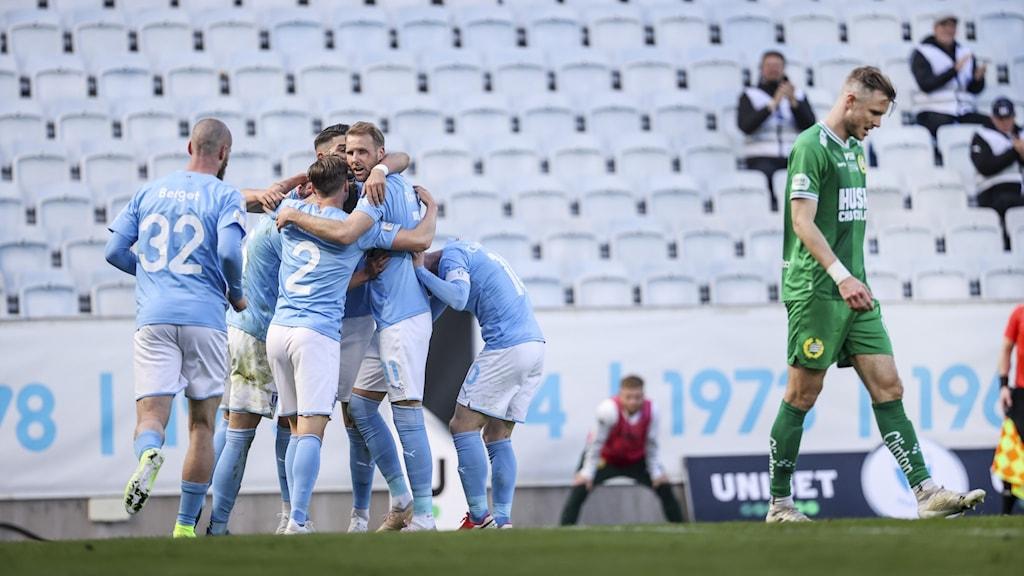 Malmö FF gläds över vinsten