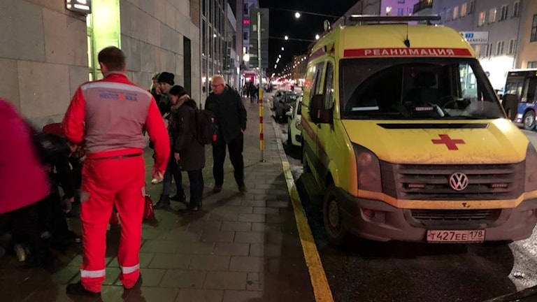 Rysk Ambulans i Stockholm