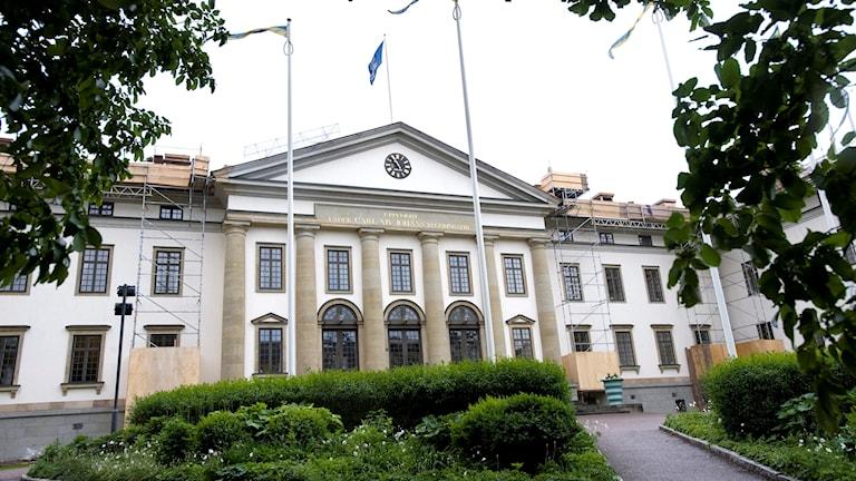 Landstingets högkvarter på Kungsholmen.