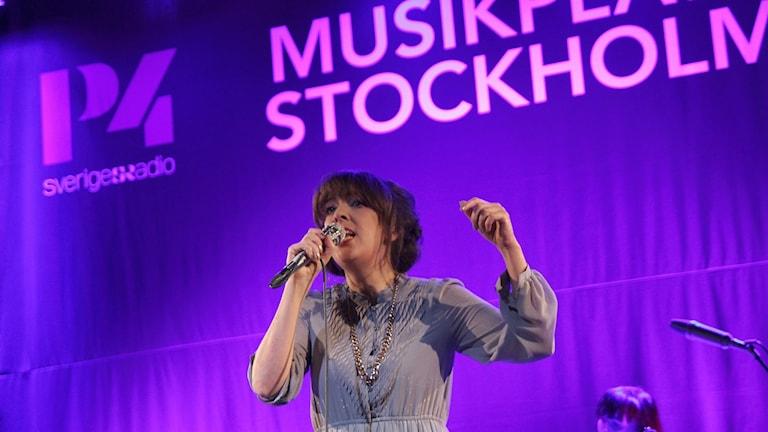 Marit Bergman i P4 Stockholm