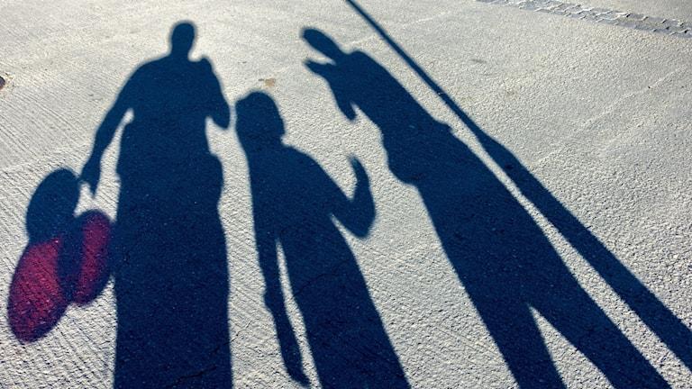 FAMILJ PÅ NÖJESPARK