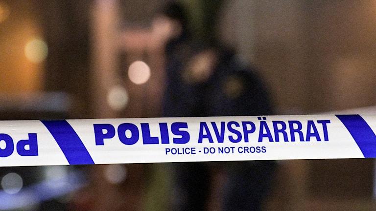 Polisavspärrningsband