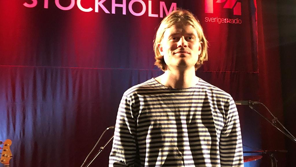 Henning Sernhede på Musikplats Stockholm.