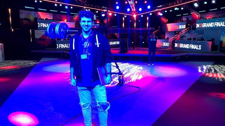 Simon Sundén, arrangör för tävlingen PlayerUnknown's Battlegrounds
