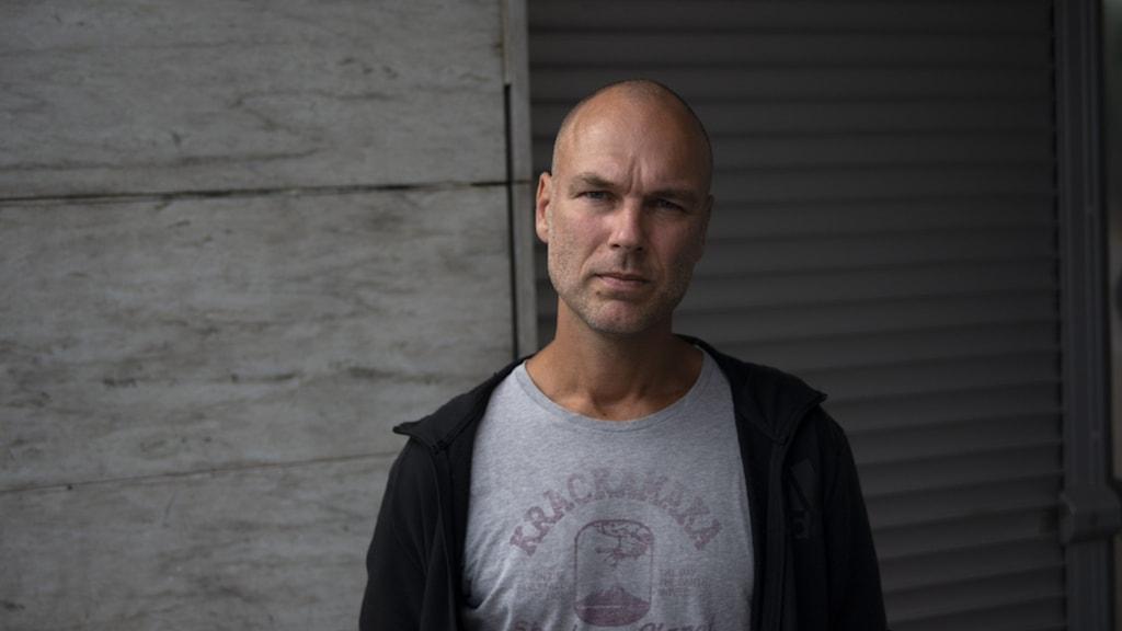 porträtt på Christian Frödén, gruppchef för polisens människohandelssektion.