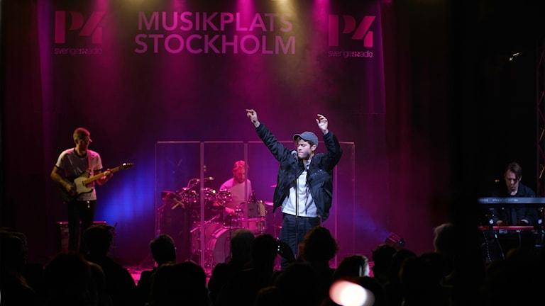 Benjamin Ingrosso, Musikplats Stockholm