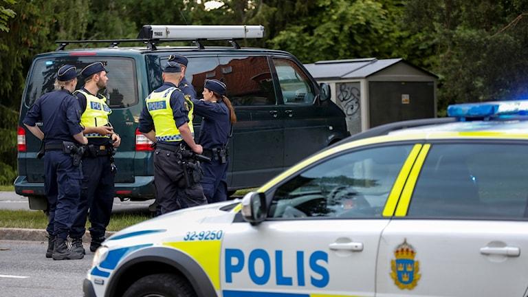 polisskott bagarmossen
