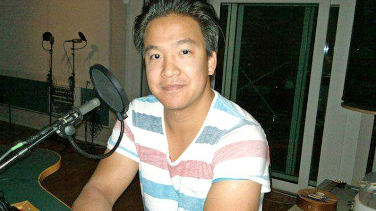 Programledaren Henry Chu.
