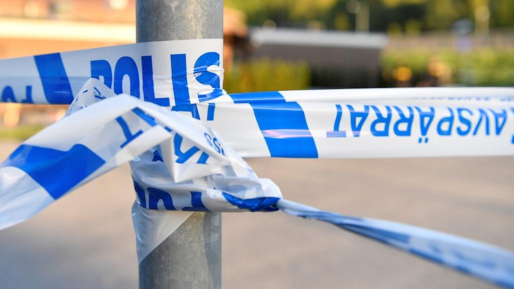 SÖDERTÄLJE Polis Genrebild
