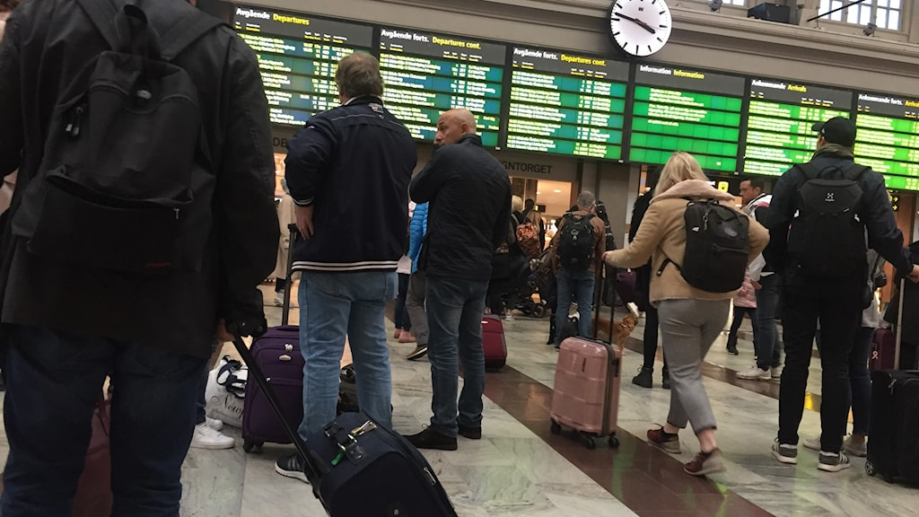 Centralstationen i  Stockholm.