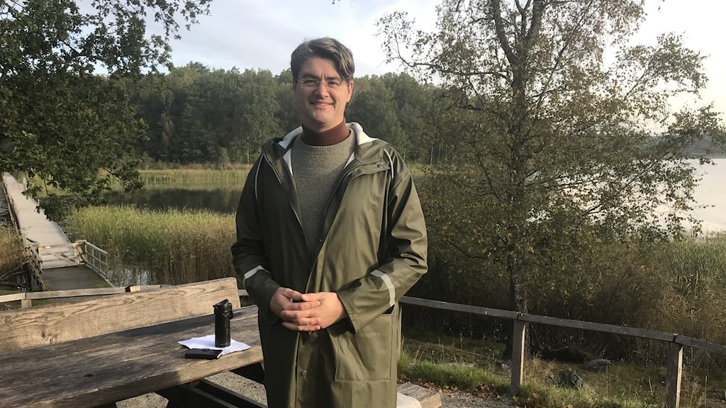 Christian Ottosson, (C), friluftskommunalråd i Huddinge