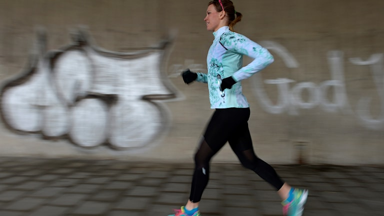 Journalisten och löparcoachen Petra Månström.