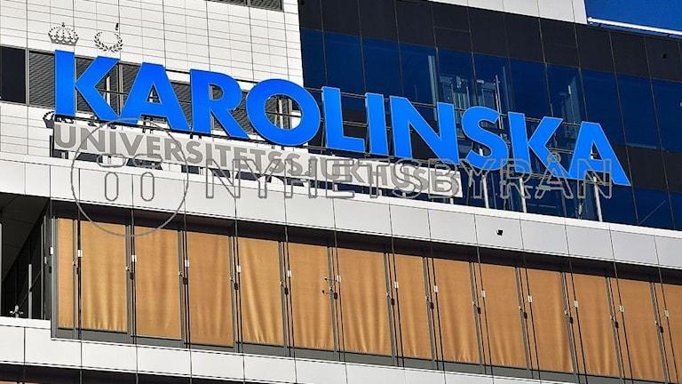 Nya Karolinska sjukhuset.