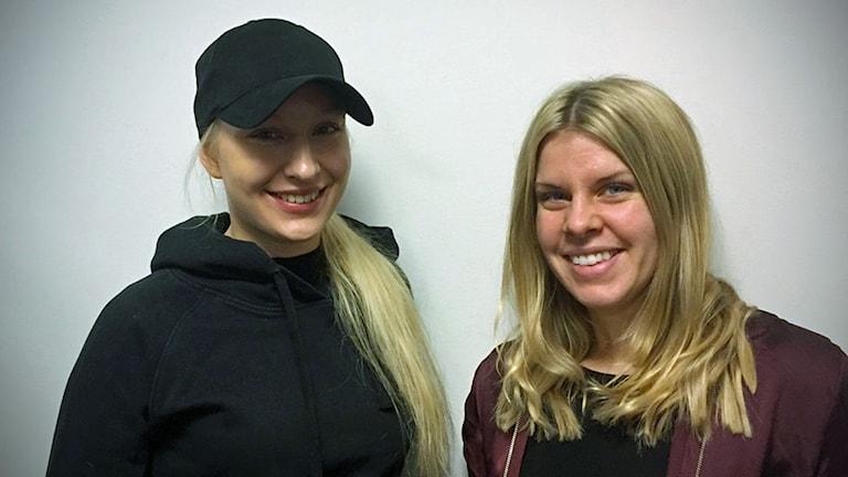 Emma Blomdahl och Julia Östfeldt