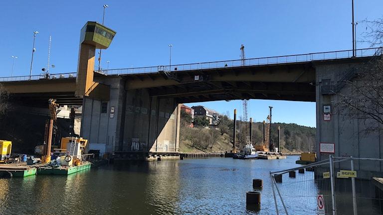 Mälarbron i Södertälje.