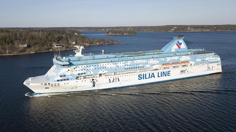 Passagerarfärjan M/S Galaxy från Silja Line
