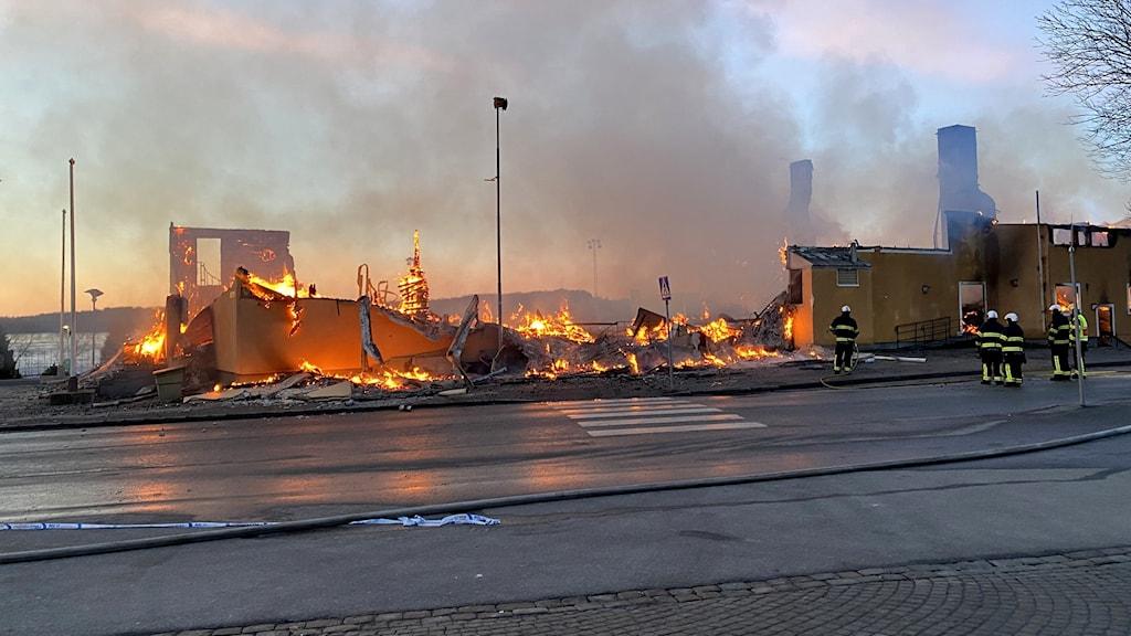Brand i Sigtuna