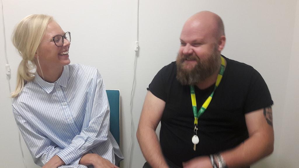 Olle Westman och Matilda Ryberg