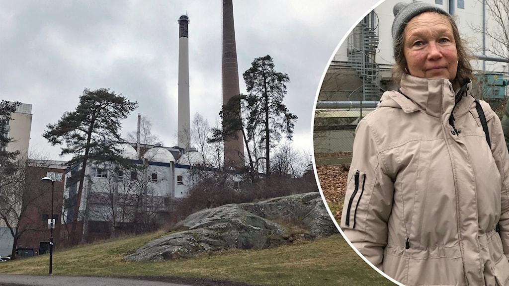 Värmeverket och Hässelbybon Helena Butt Gamziukas