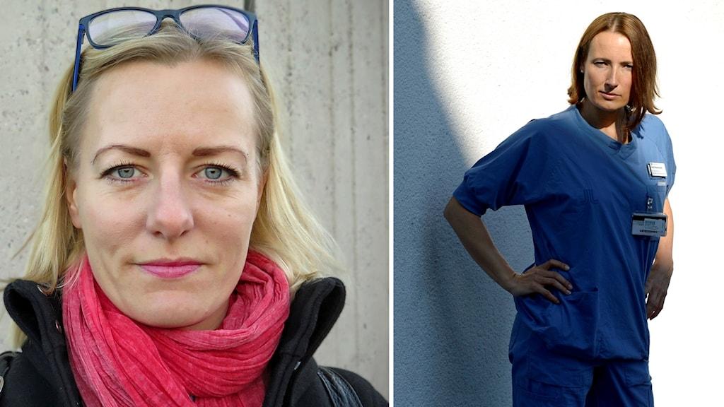 Erika Ullberg och Heidi Stensmyren