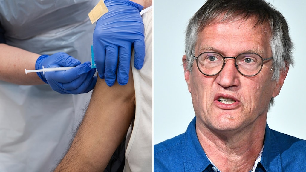 Vaccinering och Anders Tegnell, FHM.