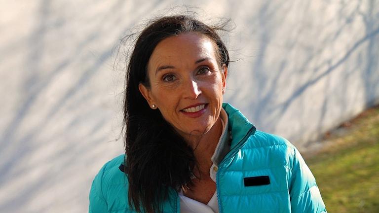 Meteorologen Pia Hultgren.