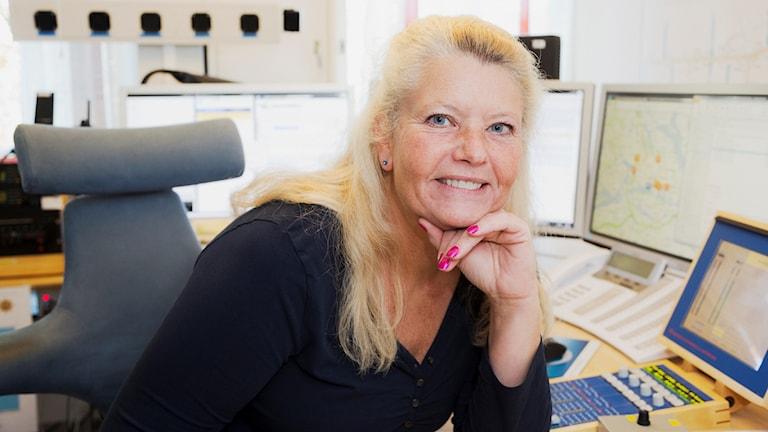 Trafikreporter Mia Sjökvist