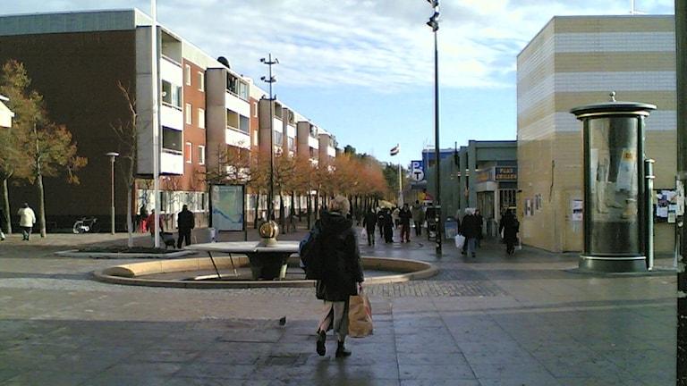 Tensta centrum. Foto: Vkem/CC BY SA 2.5.