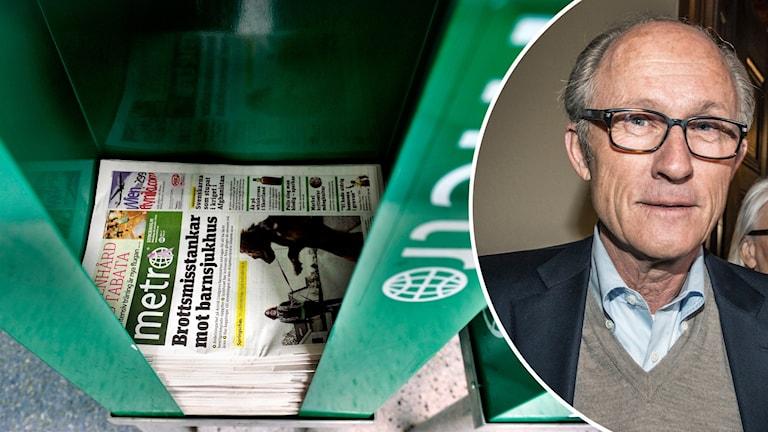 Mats Qvistberg ägare på Metro