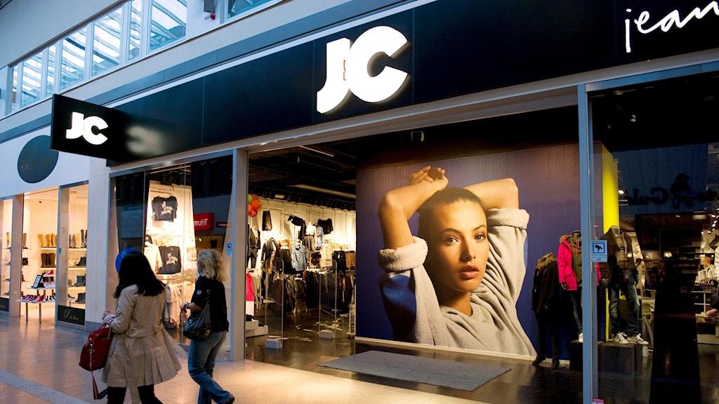 JC butik i Skärholmen centrum