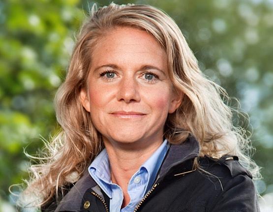 Svenska Golfförbundets nya ordförande Maria Möller, portträtt